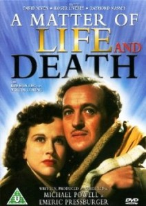 DVD cover for 'A Matter of Life and Death'